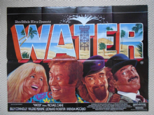 Water, Original British Quad Poster, Michael Caine, Billy Connolly, 85